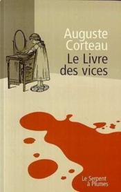 Le livre des vices - Couverture - Format classique