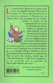 Petit Marche, Double Bonheur - 4ème de couverture - Format classique