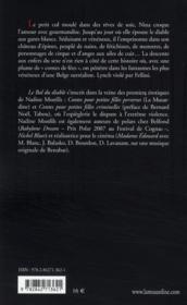 Le bal du diable - 4ème de couverture - Format classique