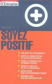 Soyez Positif - Intérieur - Format classique