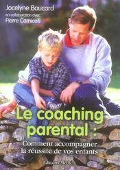 Le coaching parental : comment accompagner la reussite de vos enfants - Intérieur - Format classique