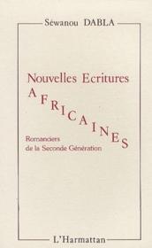 Nouvelles écritures africaines ; romanciers de la seconde génération - Couverture - Format classique