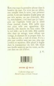 La Vie Nue - 4ème de couverture - Format classique