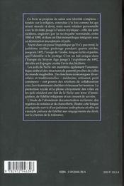 Arabes de langue ; juifs de religions - 4ème de couverture - Format classique