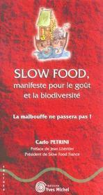 Slow Food - Intérieur - Format classique