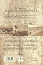 Guy de Maupassant sur les chemins d'Algérie - 4ème de couverture - Format classique