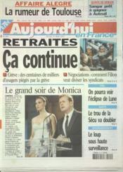 Aujourd'Hui En France N°595 du 15/05/2003 - Couverture - Format classique