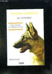 Le Contrat. - Couverture - Format classique