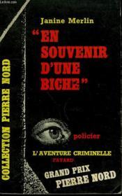 En Souvenir D'Une Biche. Collection L'Aventure Criminelle N° 124 - Couverture - Format classique