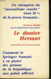Le Dossier Hersant - Couverture - Format classique