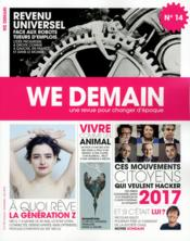 Vente livre :  We Demain N.14  - We Demain