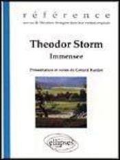 Theodor Storm Immensee Reference Oeuvres De Litterature Etrangere Dans Leur Version Originale - Intérieur - Format classique