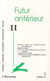 Futur Anterieur 11 - Couverture - Format classique