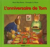 L'anniversaire de Tom - Couverture - Format classique