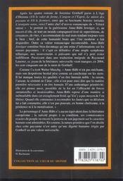 Anne-Babi Jowager - 4ème de couverture - Format classique