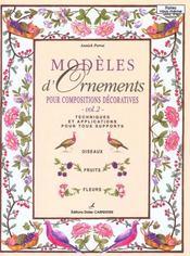 Modeles D'Ornements Pour Compositions Decoratives T2 - Intérieur - Format classique