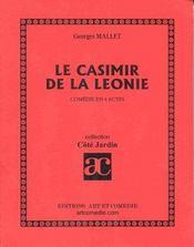Le casimir de la leonie ; comedie en 4 actes - Intérieur - Format classique