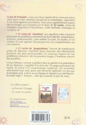Le Jeu De L'Entraide - 4ème de couverture - Format classique