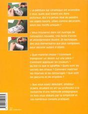 ET SI J'APPRENAIS T.14 ; la peinture sur céramique - 4ème de couverture - Format classique