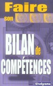 Faire son bilan de competences - Couverture - Format classique