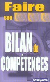Faire son bilan de competences - Intérieur - Format classique
