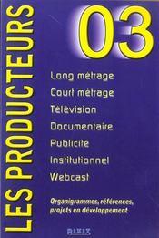 Producteurs ; Edition 2003 - Intérieur - Format classique