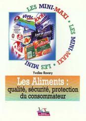 Les aliments: qualite, securite, protection du consommateur - Intérieur - Format classique