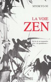 La Voie Zen - Intérieur - Format classique