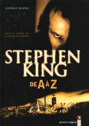 Stephen King De A A Z - Intérieur - Format classique