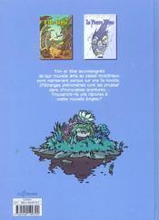 Odyssee du temps t2 la pierre bleue - 4ème de couverture - Format classique