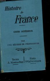 Histoire De France - Cours Superieur - Couverture - Format classique