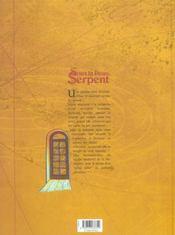 Sous La Peau, Le Serpent T.1 - 4ème de couverture - Format classique