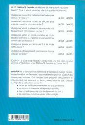 Method'S ; mathématiques ; 1ère S ; 200 méthodes, 90 exercices corrigés - 4ème de couverture - Format classique