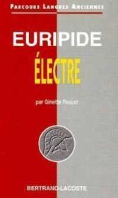 Euripide : electre-parcours langues anciennes - Couverture - Format classique