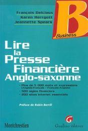 Savoir Lire La Presse Financiere En Anglais Et En - Intérieur - Format classique