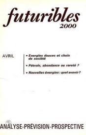 Futuribles 2000 No22 Avril 1979 - Couverture - Format classique