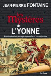 Les mystères de l'Yonne - Couverture - Format classique