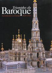 Le triomphe du baroque. l'architecture en Europe, 1600-1750 - Intérieur - Format classique
