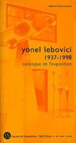 Yonel Lebovici 1937-1998 - Couverture - Format classique