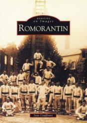 Romorantin - Couverture - Format classique