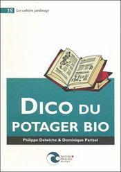 Dico Du Potager Bio - Intérieur - Format classique