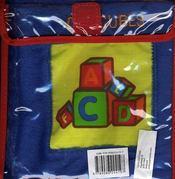 Livres câlins bleu ; jouer - 4ème de couverture - Format classique