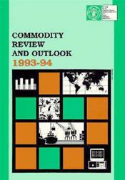 Commodity review and outlook 1993-1994 - Couverture - Format classique