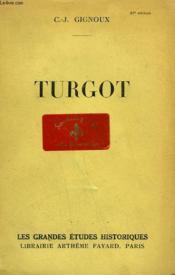 Turgot. - Couverture - Format classique
