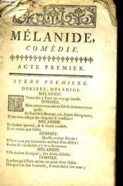 Malanide - En Cinq Actes, En Vers - Couverture - Format classique