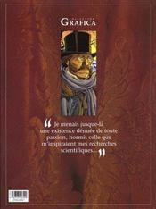 Le prince de la nuit t.4 ; le journal de maximilien - 4ème de couverture - Format classique