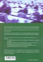 Reussir les concours d'aide-soignant et d'auxiliaire de puériculture ; fiches de révisions, conseils pratiques - 4ème de couverture - Format classique