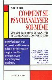 Comment Se Psychanalyser Soi-Meme - Intérieur - Format classique