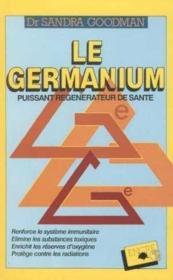 Germanium - Couverture - Format classique