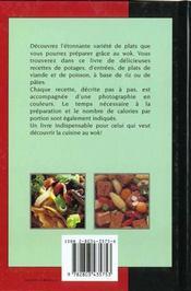 Le Meilleur De La Cuisine Au Wok Et Autres Plats Uniques - 4ème de couverture - Format classique